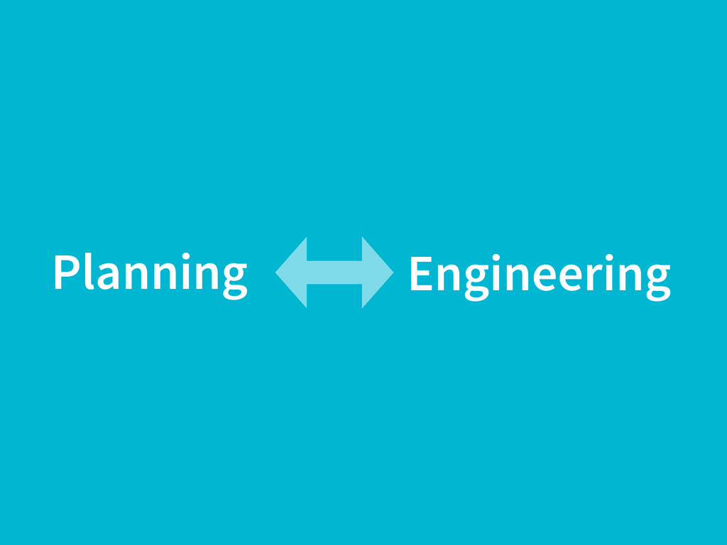 Planning Engineering