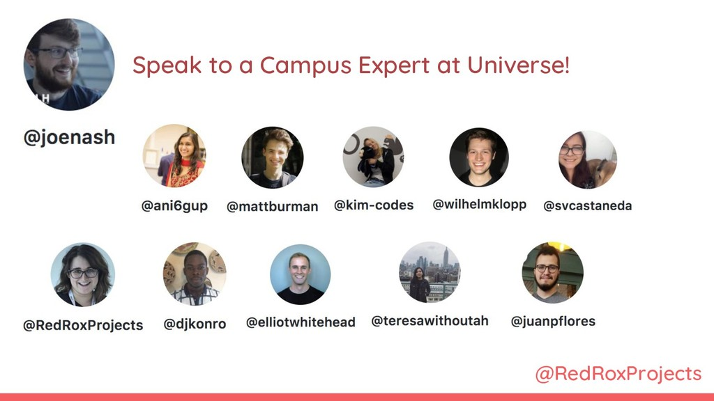 @RedRoxProjects Speak to a Campus Expert at Uni...