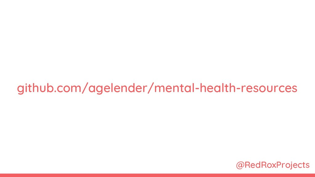 @RedRoxProjects github.com/agelender/mental-hea...