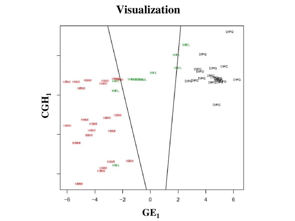 Visualization GE1 CGH1