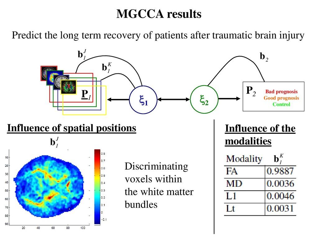 MGCCA results P2 P1 2 1 J 1 b K 1 b 2 b Predi...