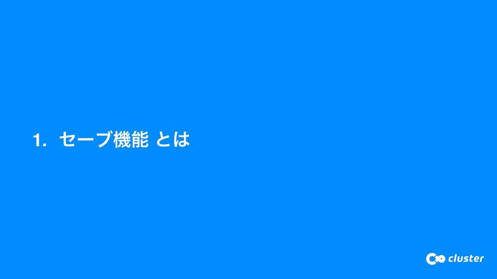 1. ηʔϒػ ͱ