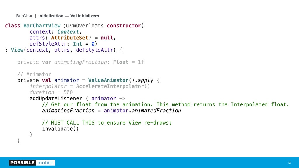 !12 BarChar | Initialization — Val initializers...