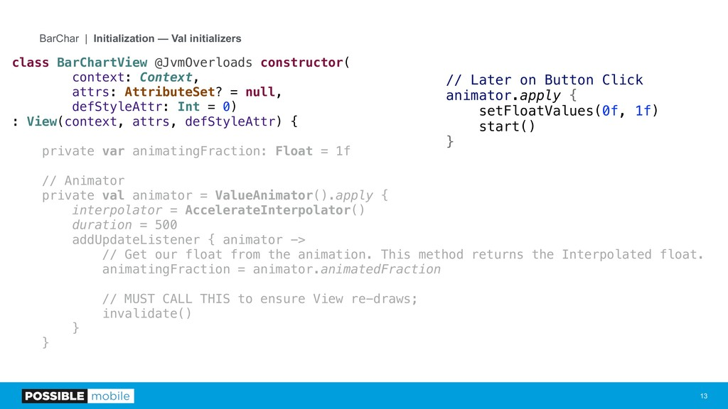 !13 BarChar | Initialization — Val initializers...