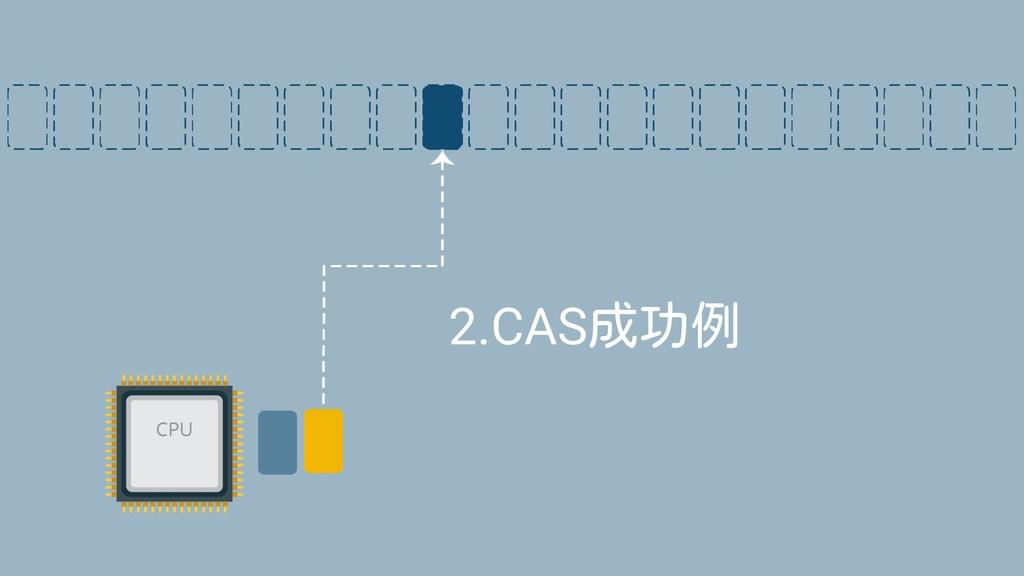 2.CAS成功例