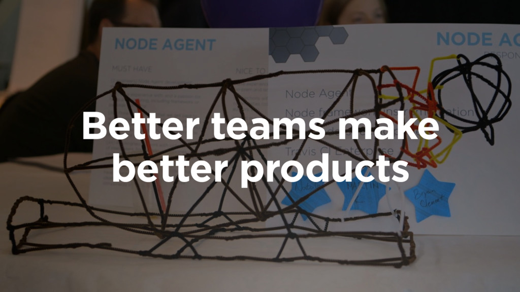 Better teams make better products