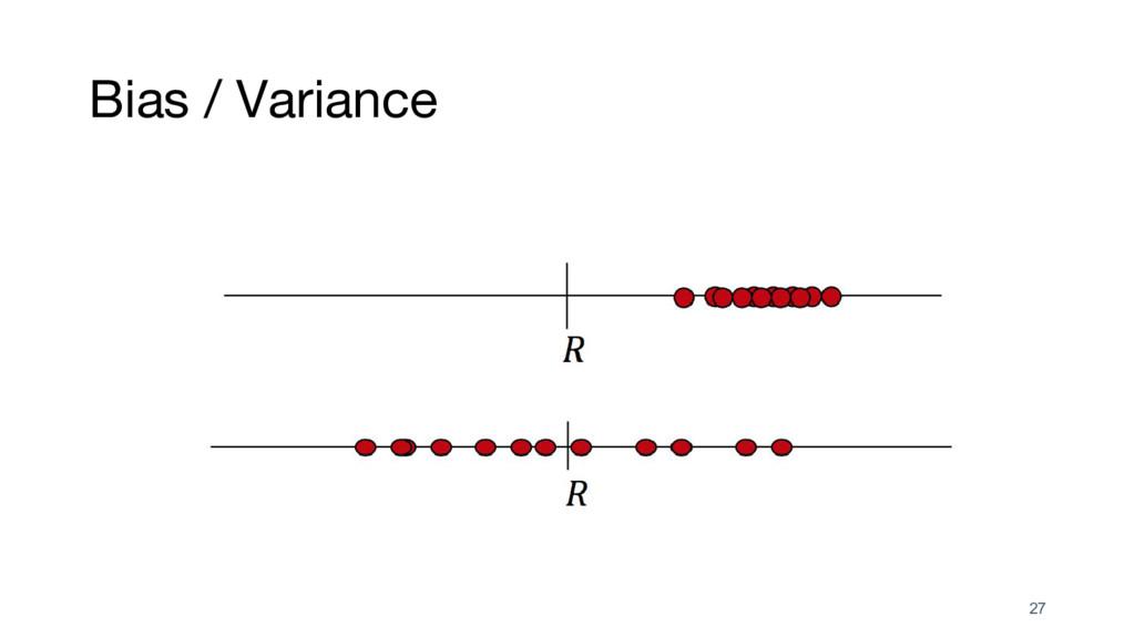 Bias / Variance 27