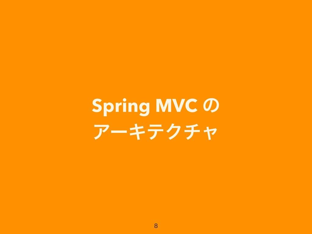 Spring MVC ͷ ΞʔΩςΫνϟ