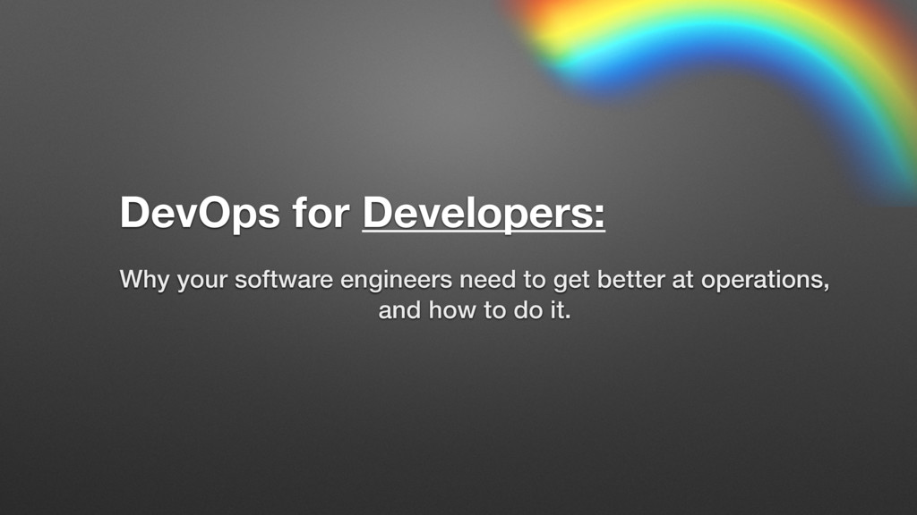 Why your software engineers need to get better ...