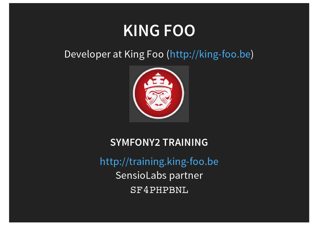 KING FOO Developer at King Foo ( ) http://king-...