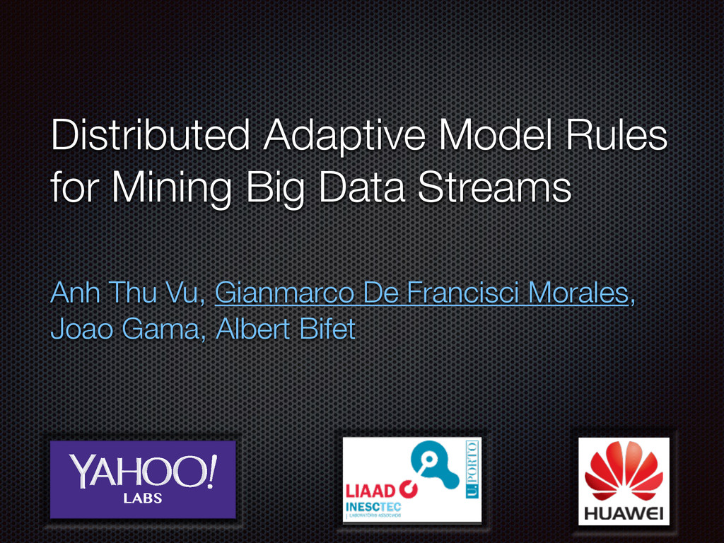 Distributed Adaptive Model Rules for Mining Big...