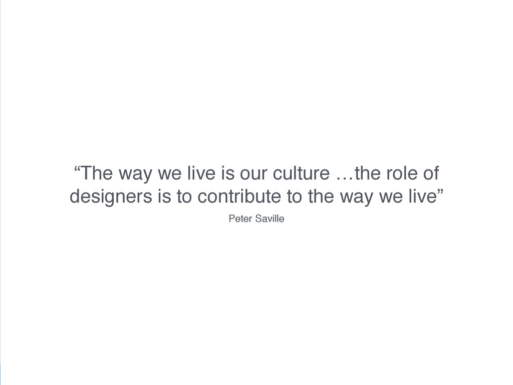 """NUX3: doing less @benholliday """"The way we live ..."""