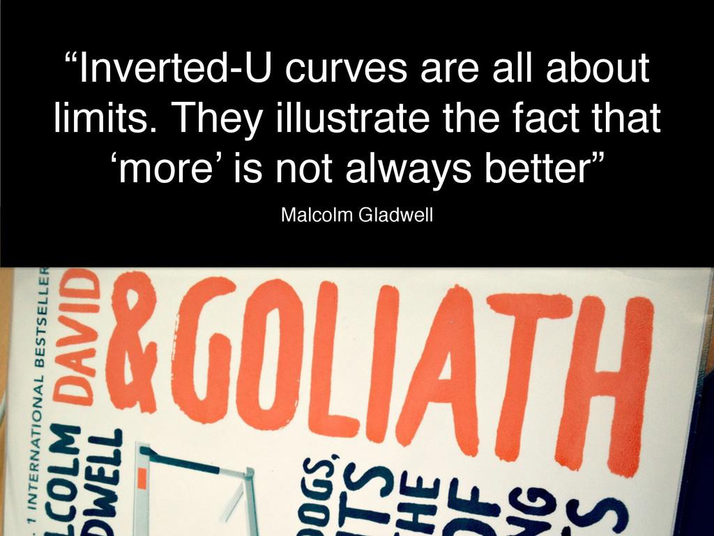 "NUX3: doing less @benholliday ""Inverted-U curve..."