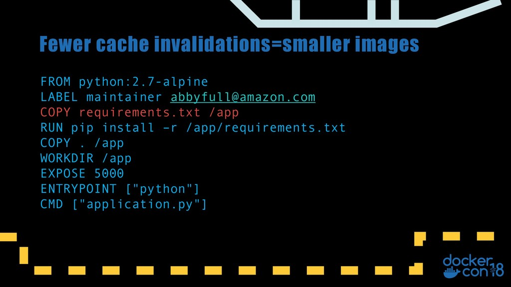 Fewer cache invalidations=smaller images FROM p...