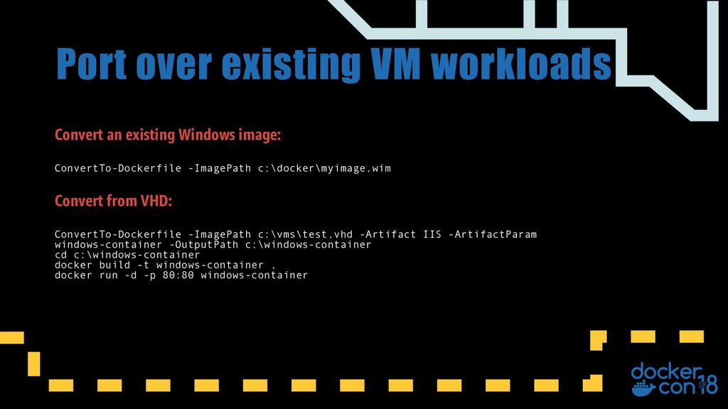 Convert an existing Windows image: ConvertTo-Do...