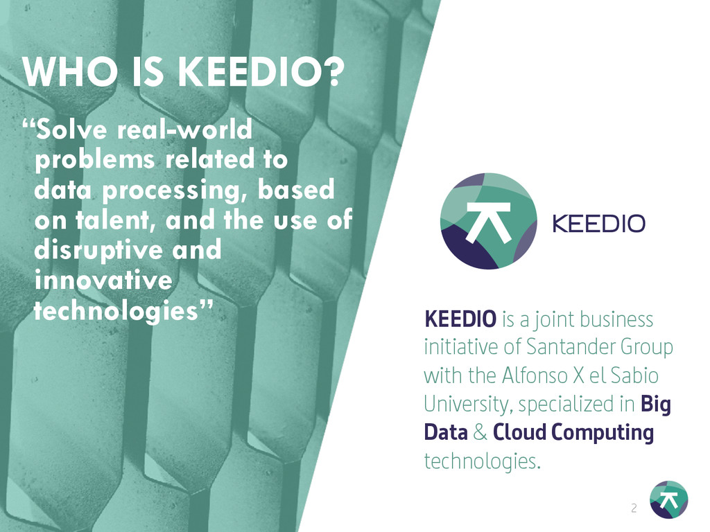 2 16/10/15 KEEDIO is a joint business initiativ...