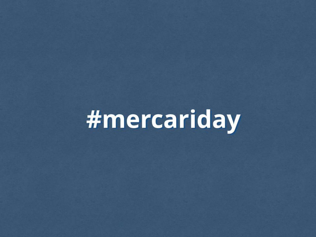 #mercariday