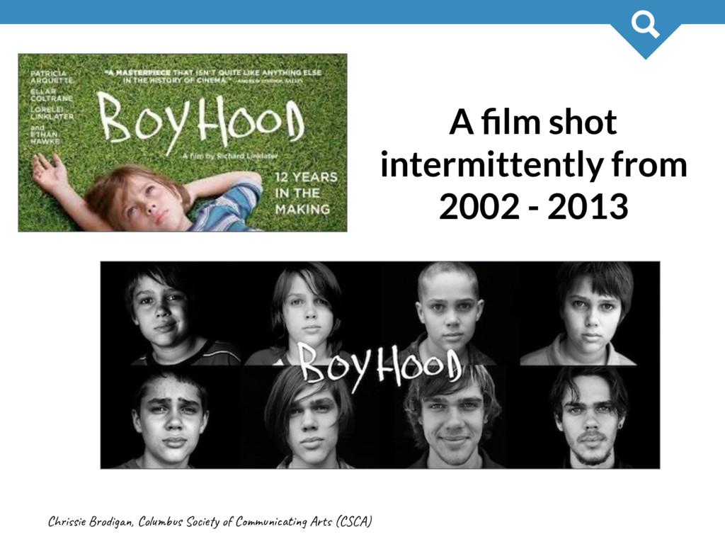 Chis Bog, Cols Soy o Cmit Ar (CA) 28 A film shot...