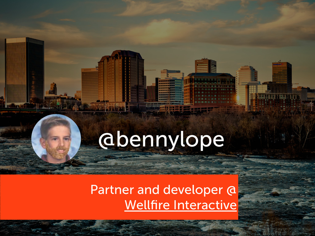 Partner and developer @ Wellfire Interactive @be...