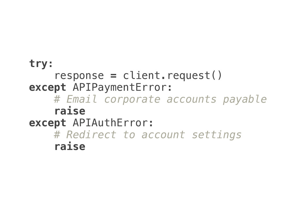 try: 