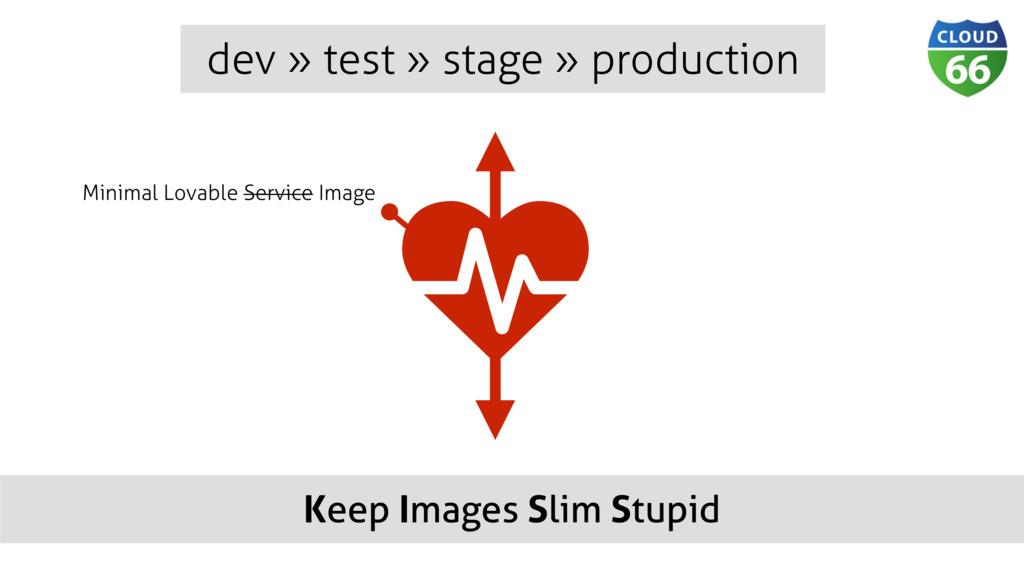 Keep Images Slim Stupid dev » test » stage » pr...