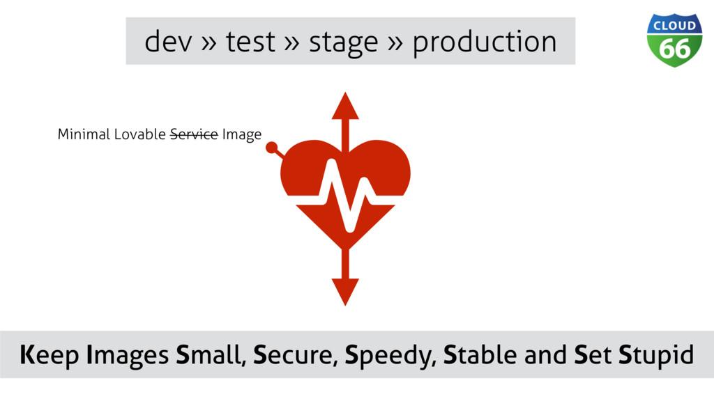 dev » test » stage » production ǽ Minimal Lovab...