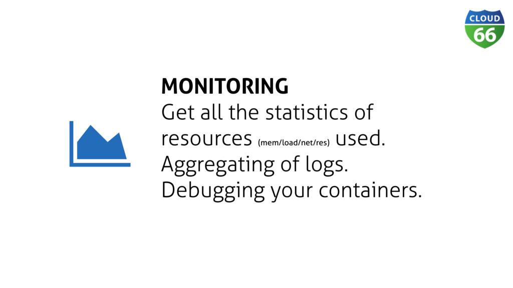 MONITORING Get all the statistics of resources ...