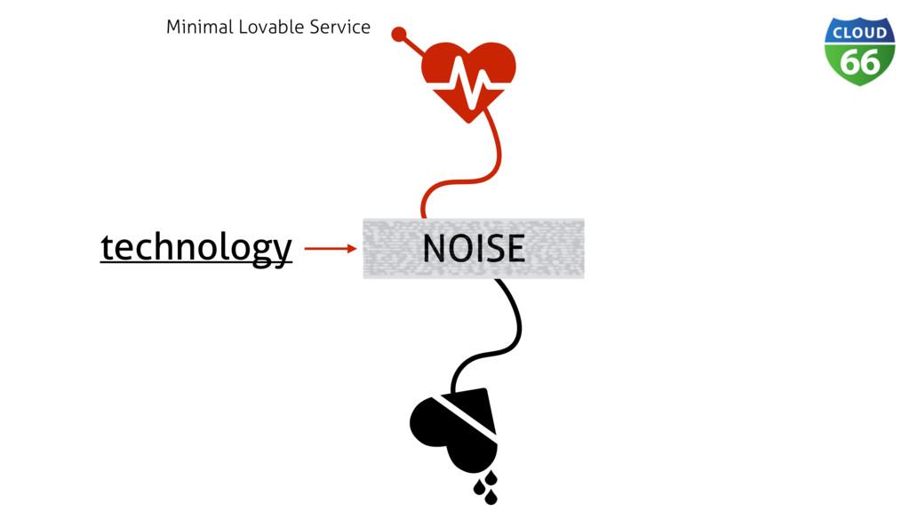 technology ǽ ♥ NOISE Minimal Lovable Service