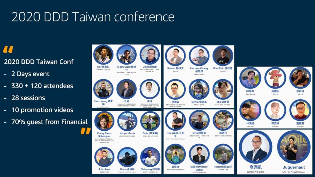 2020 DDD Taiwan conference