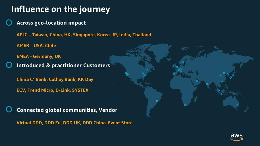 Influence on the journey Across geo-location im...