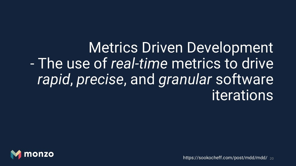 Metrics Driven Development - The use of real-ti...