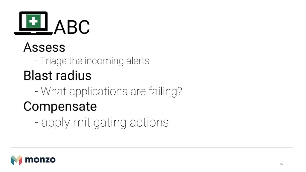 ABC Assess - Triage the incoming alerts Blast r...