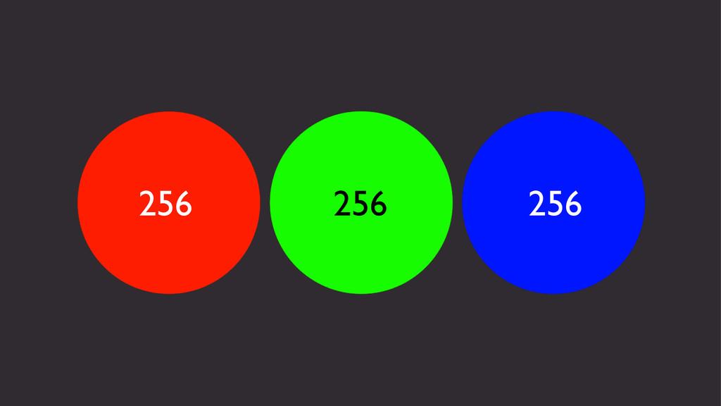 256 256 256