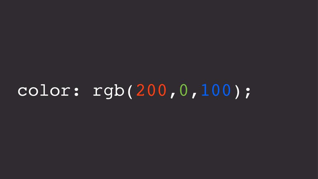 color: rgb(200,0,100);
