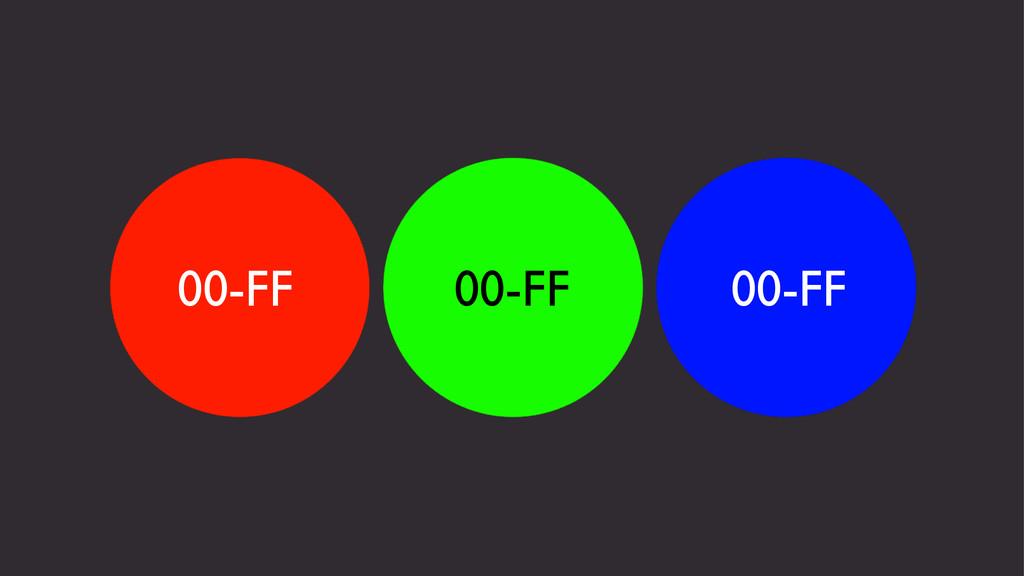 00-FF 00-FF 00-FF