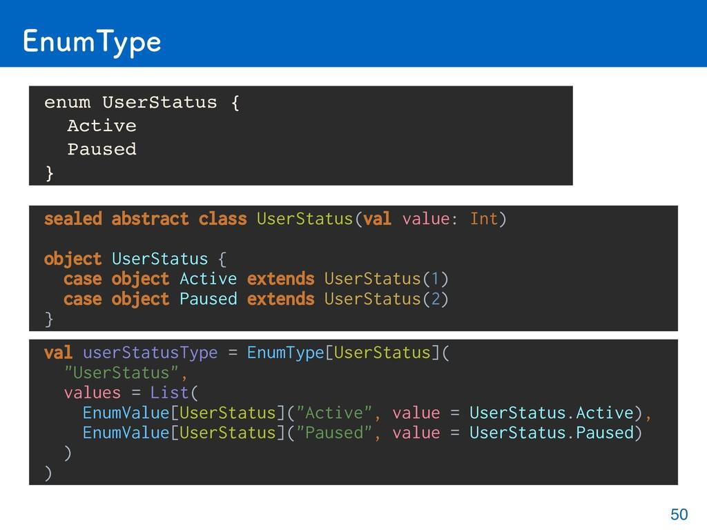 &OVN5ZQF val userStatusType = EnumType[UserStat...