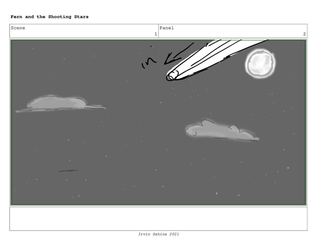 Scene 1 Panel 2 Fern and the Shooting Stars Irv...