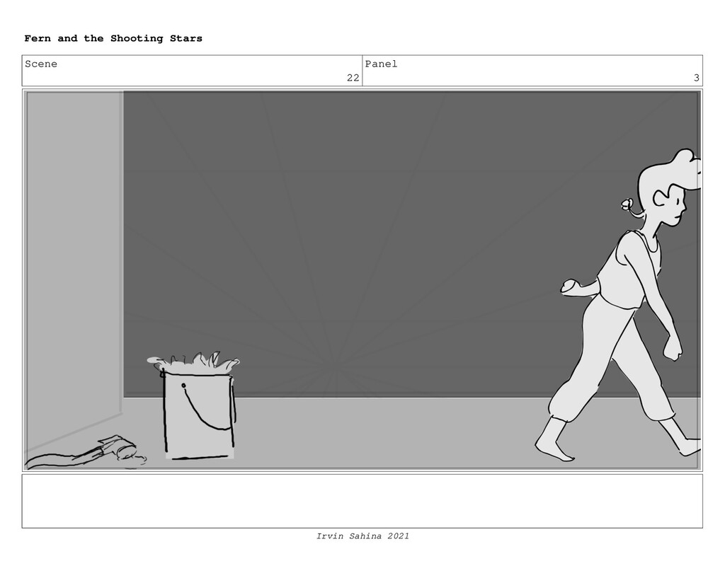 Scene 22 Panel 3 Fern and the Shooting Stars Ir...