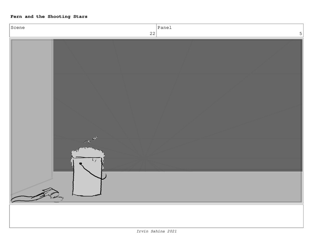Scene 22 Panel 5 Fern and the Shooting Stars Ir...