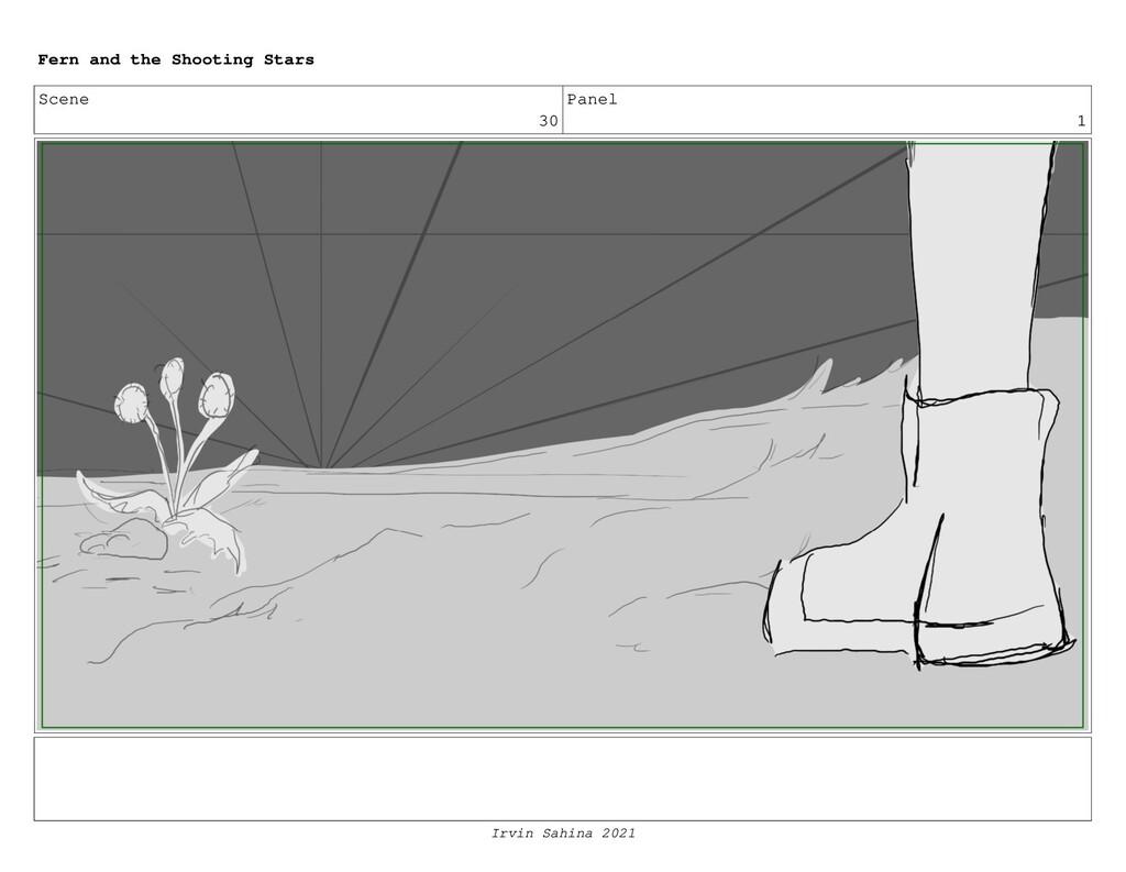 Scene 30 Panel 1 Fern and the Shooting Stars Ir...