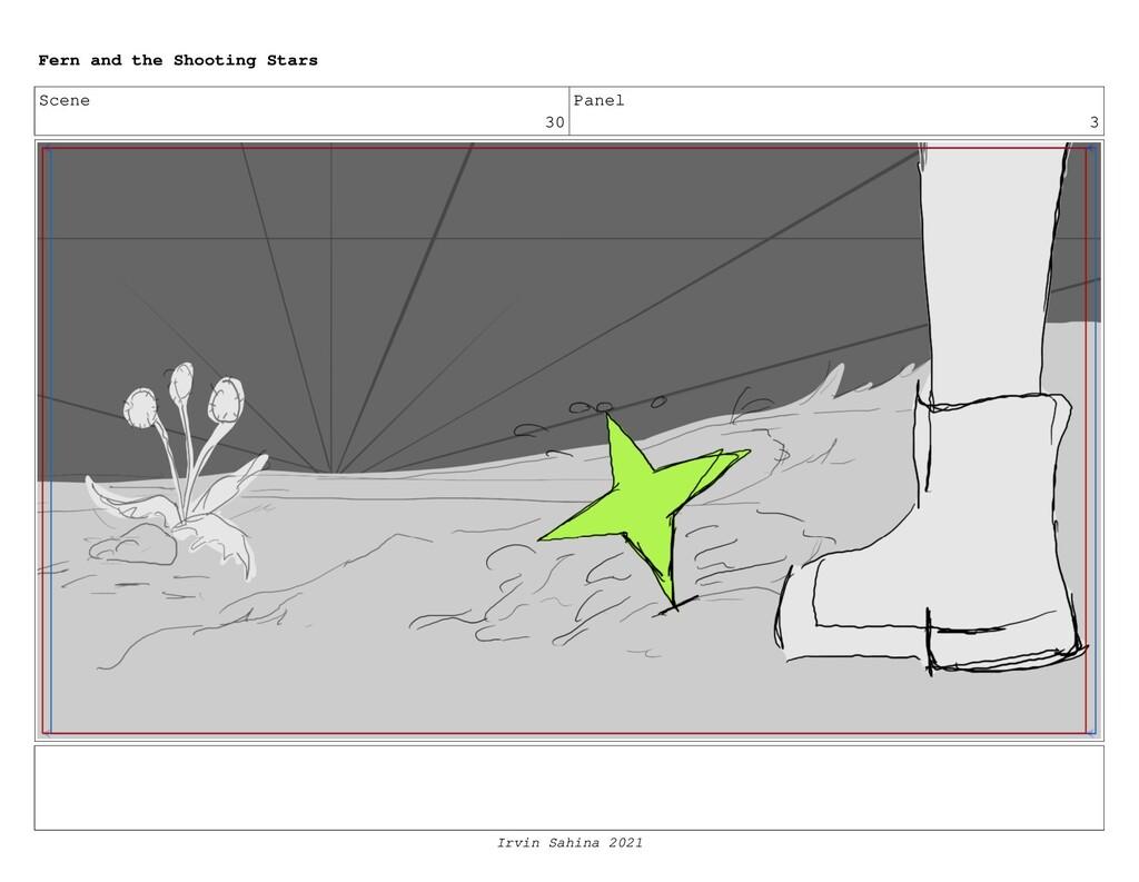 Scene 30 Panel 3 Fern and the Shooting Stars Ir...