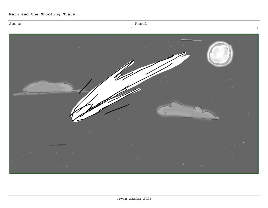 Scene 1 Panel 3 Fern and the Shooting Stars Irv...