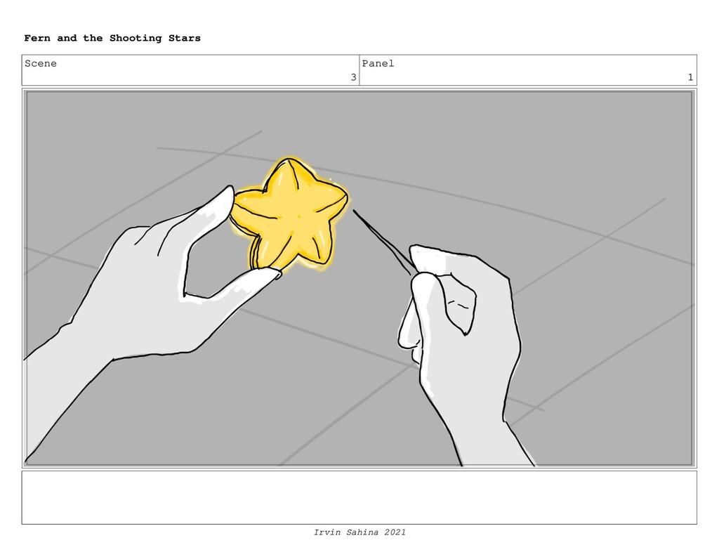 Scene 3 Panel 1 Fern and the Shooting Stars Irv...