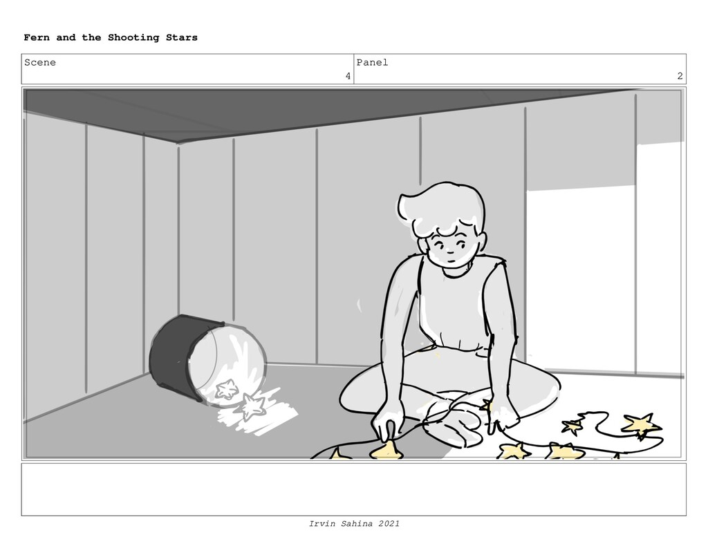 Scene 4 Panel 2 Fern and the Shooting Stars Irv...