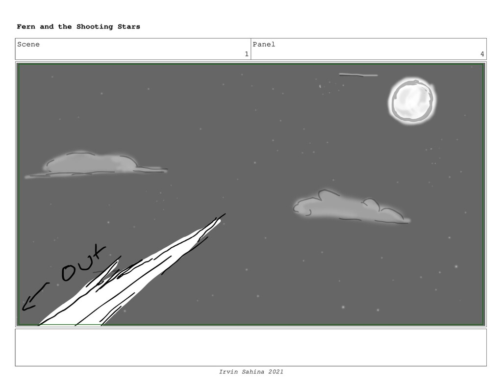 Scene 1 Panel 4 Fern and the Shooting Stars Irv...