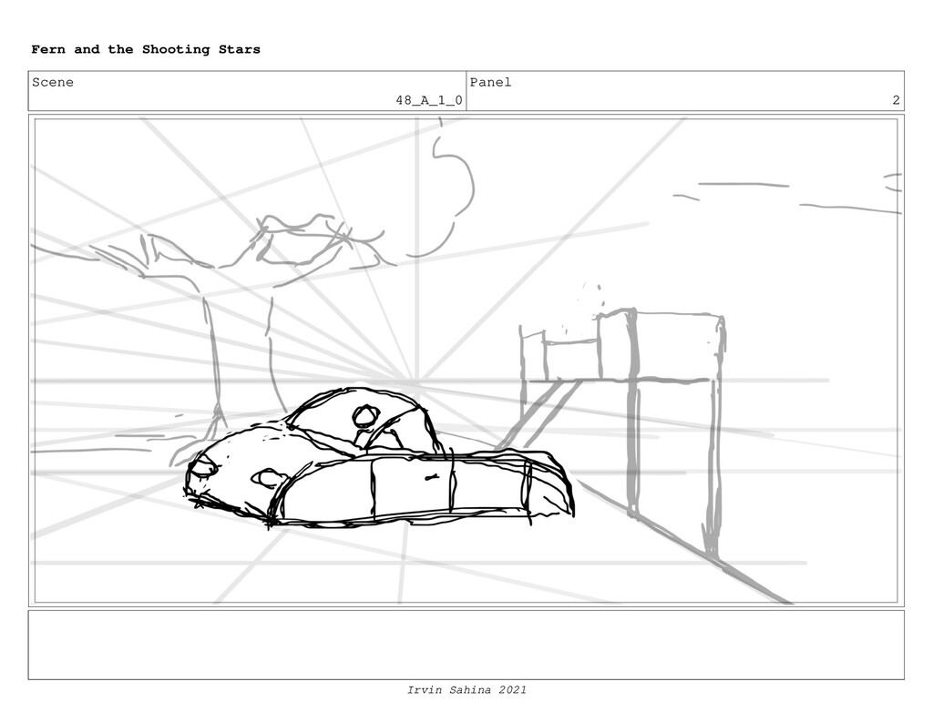 Scene 48_A_1_0 Panel 2 Fern and the Shooting St...