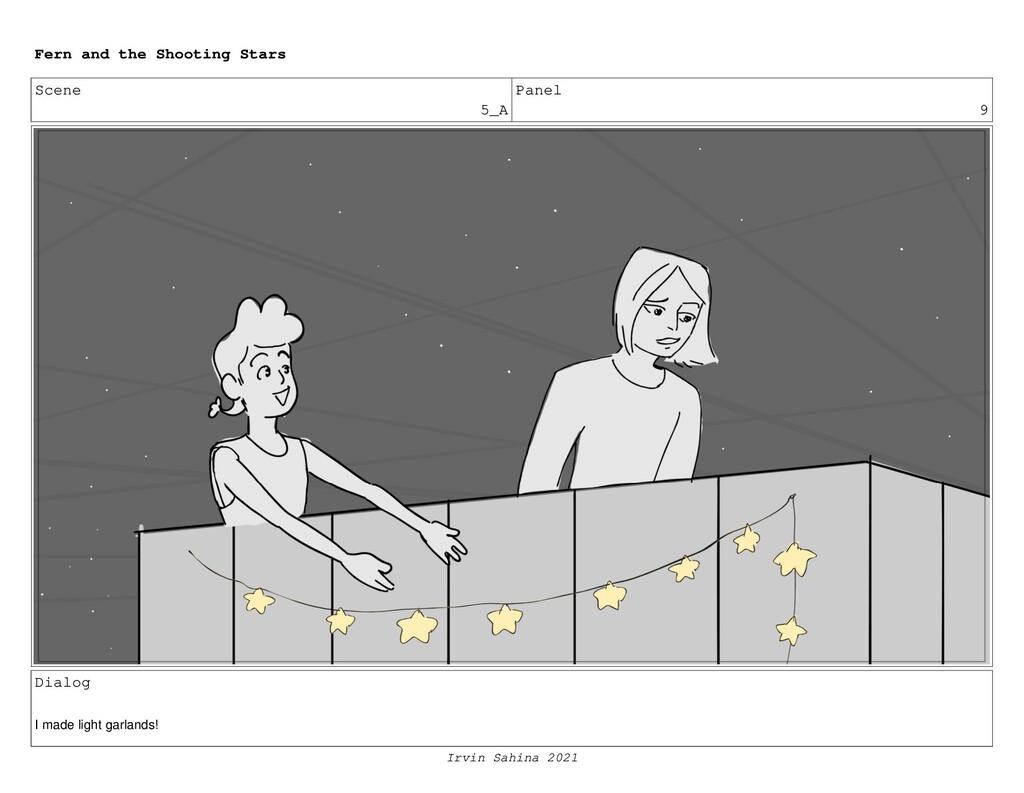 Scene 5_A Panel 9 Dialog I made light garlands!...