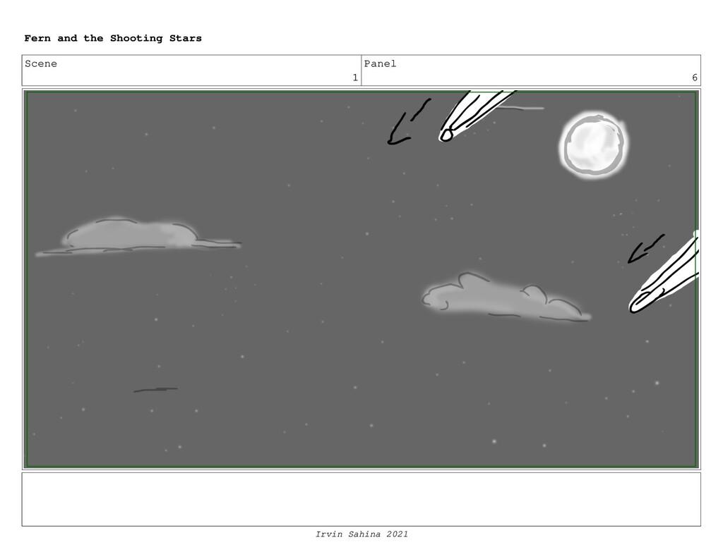 Scene 1 Panel 6 Fern and the Shooting Stars Irv...