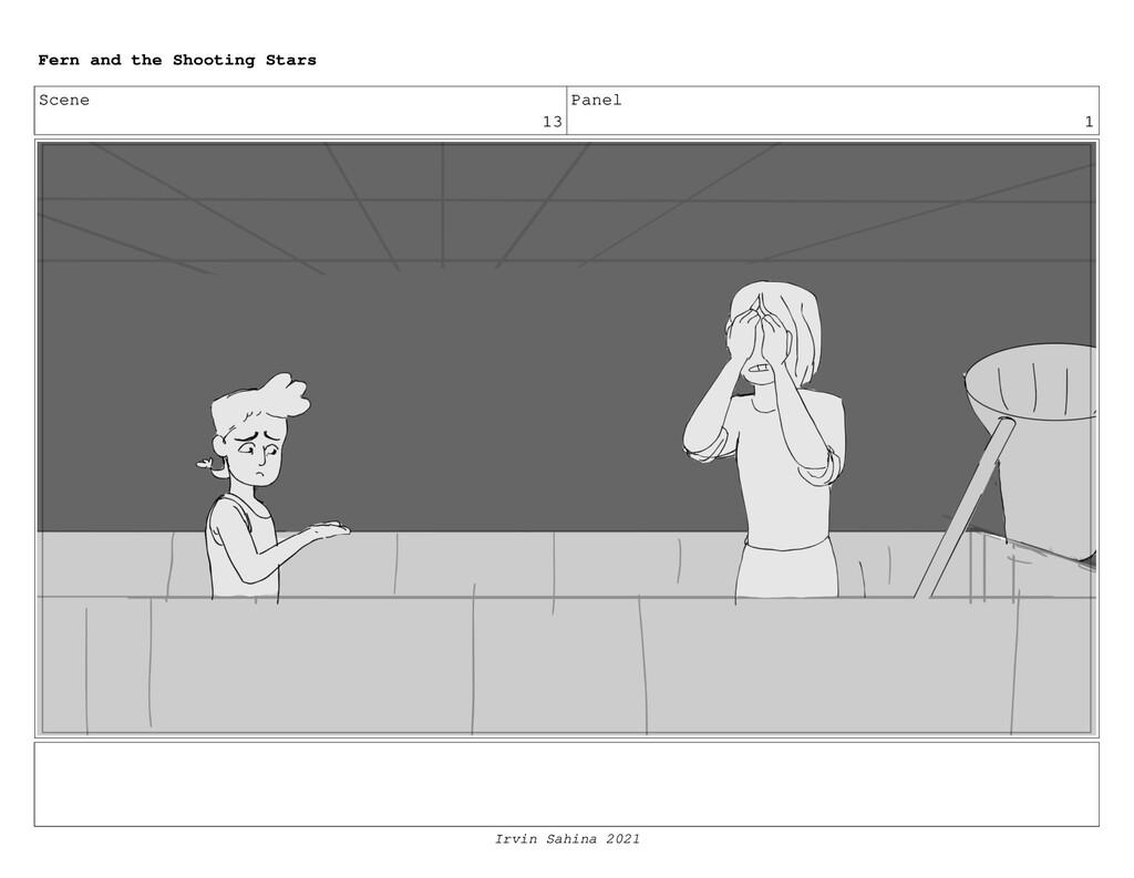 Scene 13 Panel 1 Fern and the Shooting Stars Ir...