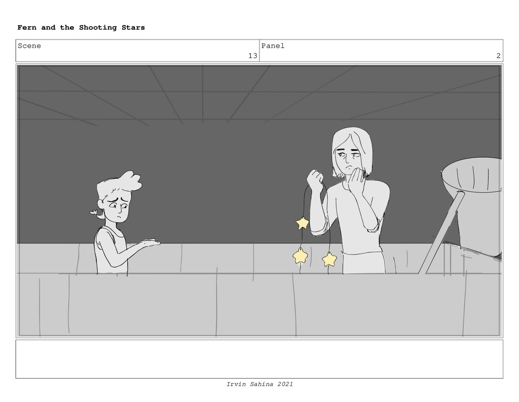 Scene 13 Panel 2 Fern and the Shooting Stars Ir...